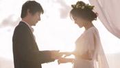 Singer Zheng Jun, actress Liu Yun hold wedding ceremony in Maldives