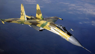 In pictures: Russia's Su-35 fighters