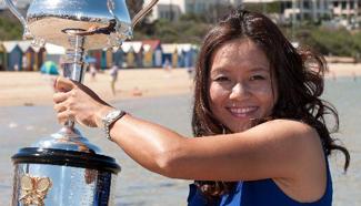 Li Na hangs up her racket