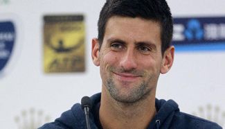 Djokovic attends Shanghai Masters press conference