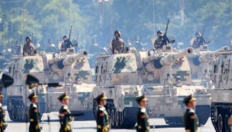 In pics: armaments displyed in massive military parade (I)