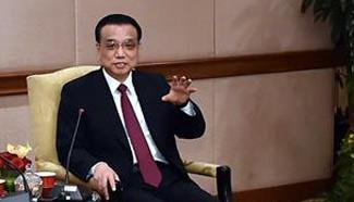 Premier Li meets Malaysian industrial and commercial representatives