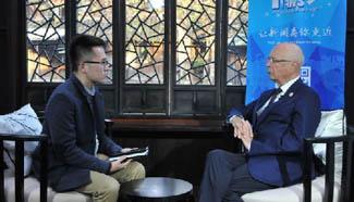 Klaus Schwab gives exclusive interview to Xinhua