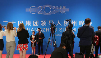 In pics: Media Center of 11th G20 summit in Hangzhou