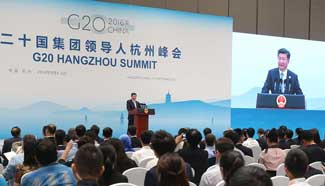 Xi: G20 to revitalize global trade, investment