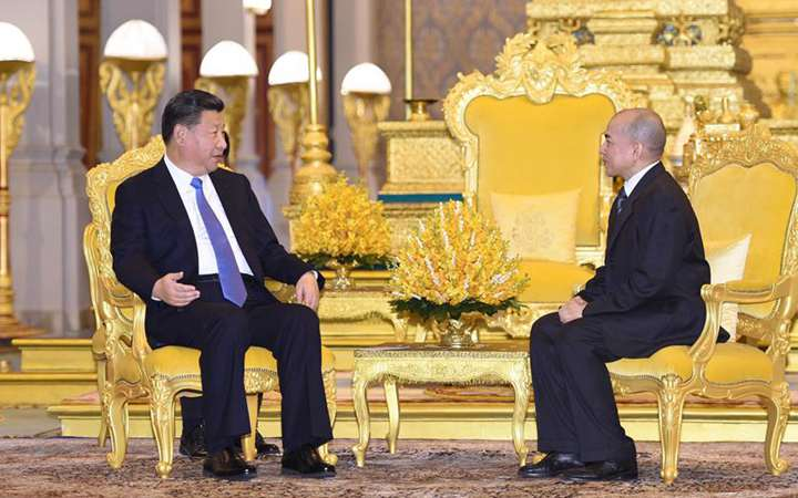China, Cambodia to forge ahead with cooperation, ties