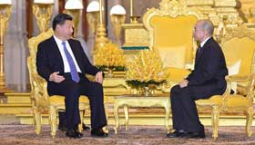 China resolute in forging closer relationship with Cambodia