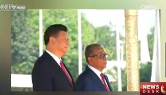 Chinese President on two-day state visit to Bangladesh