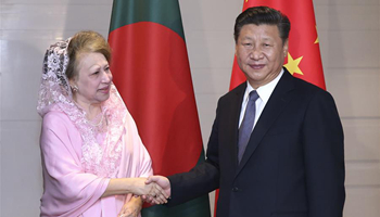 Xi pledges to strengthen party-to-party exchanges with Bangladesh