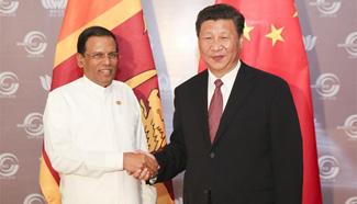 China, Sri Lanka pledge to deepen ties