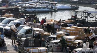 Trade flourishes in border zone between China, Vietnam