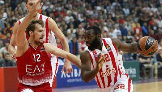 Crvena Zvezda beats Emporio Armani 83-70 at Euroleague Regular Season Round 8