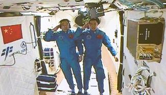 Spotlights of Shenzhou-11 Mission