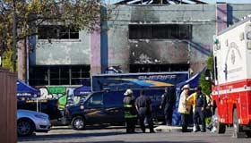 Fire at California loft party kills at least nine