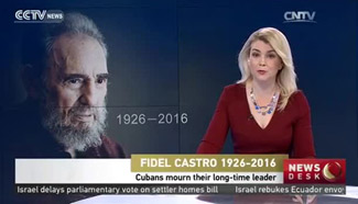 Cubans mourn their long-time leader