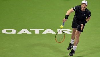 Andy Murray wins Tomas Berdych 2-0 at singles semifinal of ATP Qatar Open