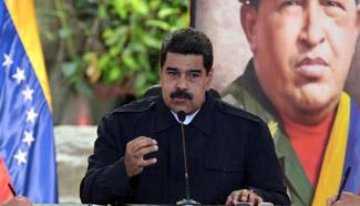 "Venezuelan president installs ""anti-coup command"""