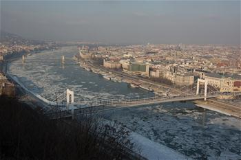 Hungary experiences extreme cold weather