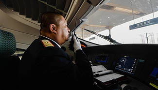 In pics: train driver who witnesses dev't of China's railway industry