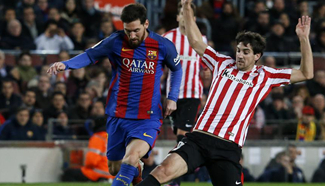 FC Barcelona beats Athletic de Bilbao 3-1 at Spanish King's Cup