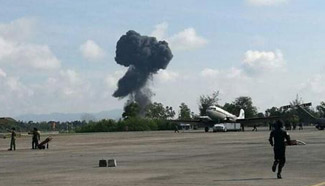 Thai air force's fighter crashlands, pilot killed