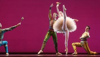 Paris Opera Ballet Dancers Gala held at Tianqiao Theater in Beijing
