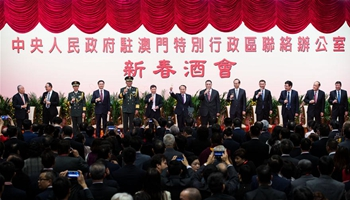 Spring Festival gathering held by Liaison Office of central gov't in Macao