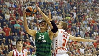 Crvena Zvezda beats Panathinaikos 72-66 at Euroleague basketball match