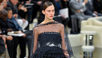 Show of Chanel Haute Couture fashion collection