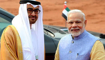 India, UAE ink 13 pacts on transport, energy