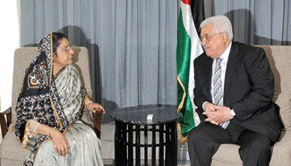 Palestinian president on three-day visit to Bangladesh