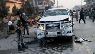 7 injured as blast rocks eastern Afghan city