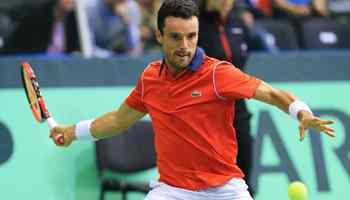 Davis Cup: Men's singles match between Croatia and Spain