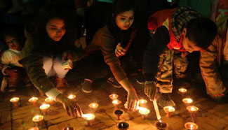 Nepalese people mark World Cancer Day in Lalitpur