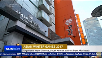Organizers move Chinese, South Korean athletes from APA hotels