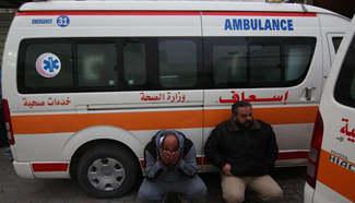 2 killed in Israeli air strike on Gaza-Egypt border
