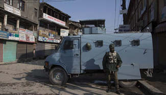 Curfew-like restrictions imposed in several of Indian-controlled Kashmir