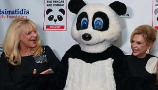 Black & White Panda Ball held in NYC