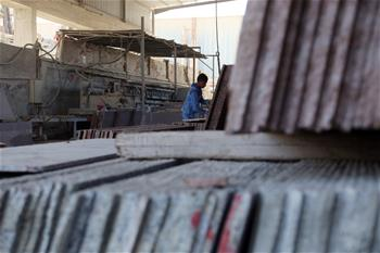 In pics: marble and granite factory in Cairo