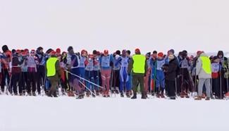 Largest ski race around world attracts over 1.5 million skiers