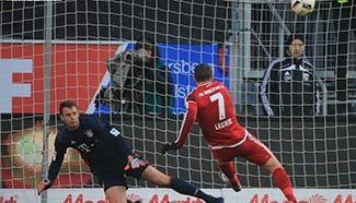 German Bundesliga: Bayern Munich beats Ingolstadt
