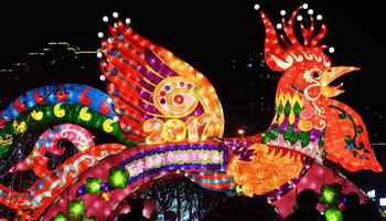 Lantern fair held in N China to celebrate Lantern Festival