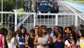 Striking military police in Brazil return to work