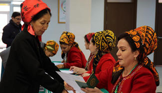 Presidential election of Turkmenistan kicks off