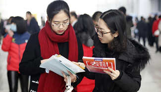 Job fair held in Hebei to offer 2,000 vacancies