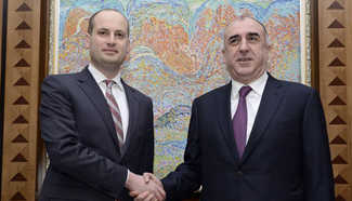 Azerbaijani FM meets visiting Georgian counterpart in Baku