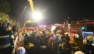 At least 28 feared dead in Taiwan bus crash