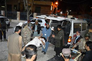 2 killed, 11 wounded in roadside blast in Quetta