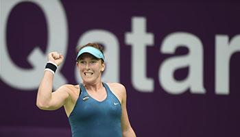 WTA Qatar Open: Brengle beats Saisai Zheng 2-0