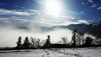 In pics: Sea of clouds over Lake Geneva